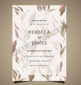 wedding-card-with-hand-drawn-leaves copy