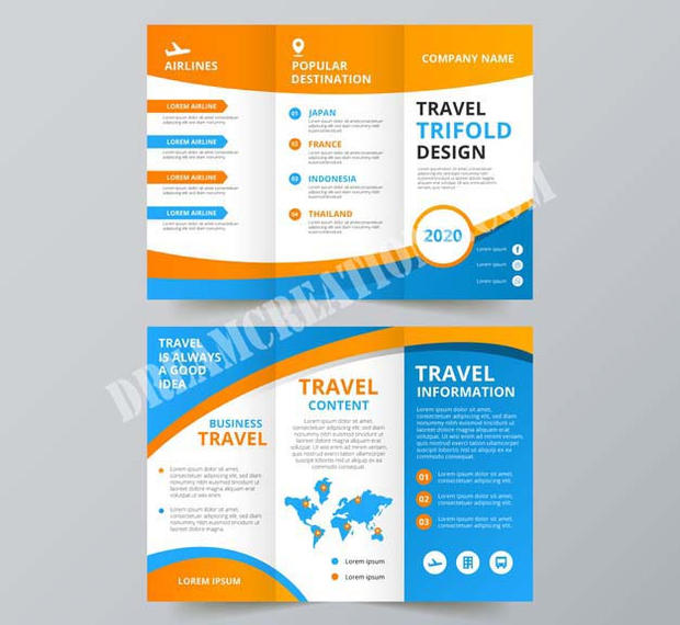 travel-trifold-flyer-orange-and-blue cop