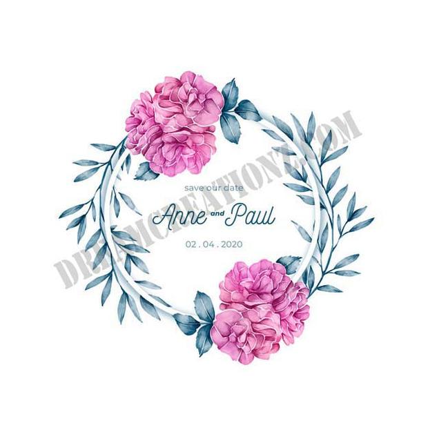 floral-frame-wedding-invitation-watercol