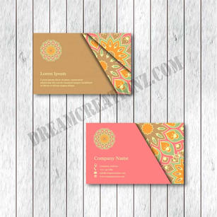 set-two-ornamental-floral-mandala-cards