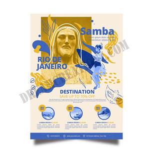 travelling-brazil-stationery-poster copy