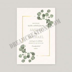wedding-invitation-with-beautiful-leaves