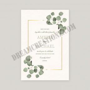 wedding-invitation-with-beautiful-leaves