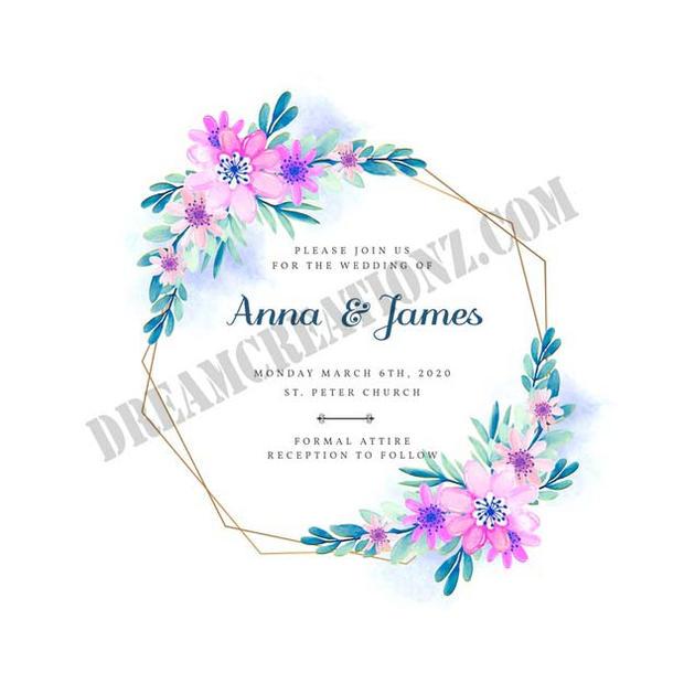 wedding-floral-frame-invitation-theme co