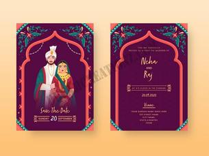 vintage-wedding-invitation-card-layout-w