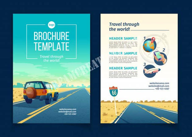brochure-with-desert-landscape-travel-co