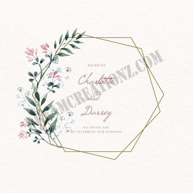 wedding-golden-floral-frame-save-the-dat