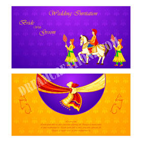 blue Elegant indian wedding invitation.j