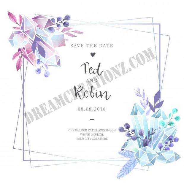 watercolor-wedding-invitation-with-diamo
