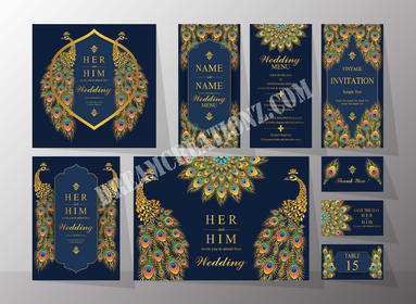 Golden embroid wedding invitation copy.j