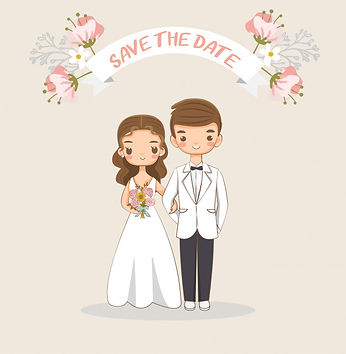 cute-bride-groom-wedding-invitations-car