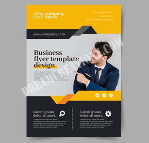 Abstract business flyer template copy.jp