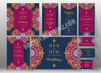 Pink black wedding invitation copy.jpg