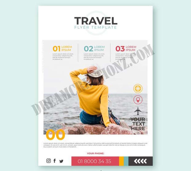 travel-flyer-with-photo-white-background