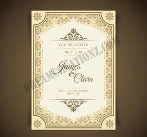 beautiful-wedding-invitation-vintage-sty