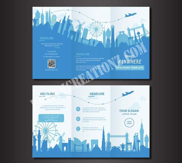 travel-trifold-brochure-white and blue c