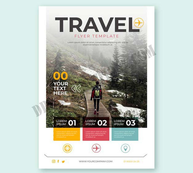 travel-flyer-with-photo-bullet-details c