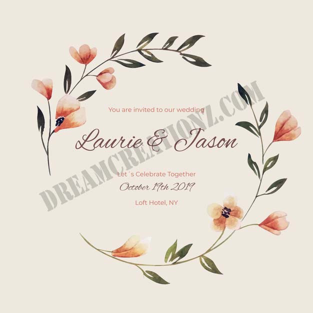 watercolor-floral-frame-wedding-invitati
