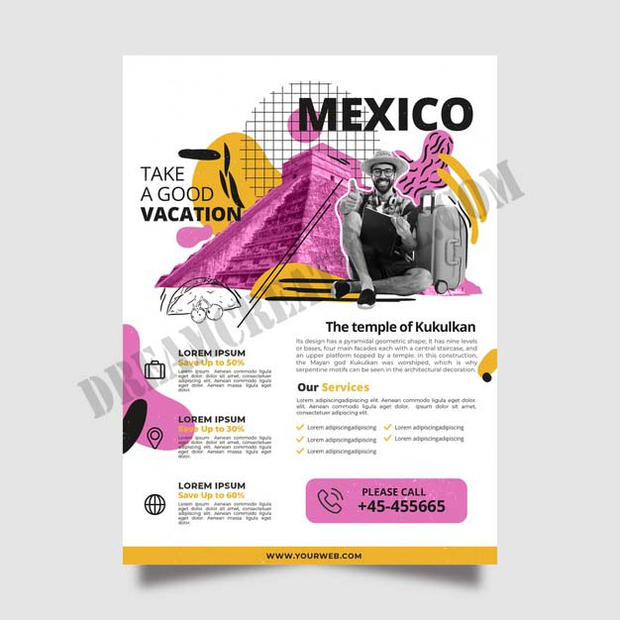 travelling-mexico-stationery-poster copy
