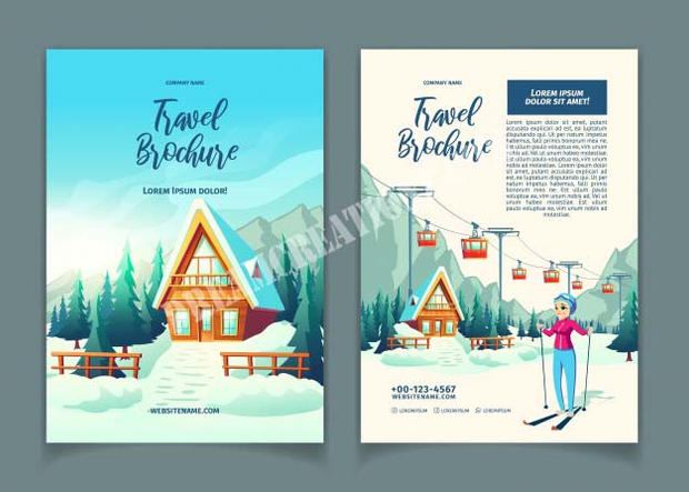 modern-winter-resort-cartoon-ad-brochure