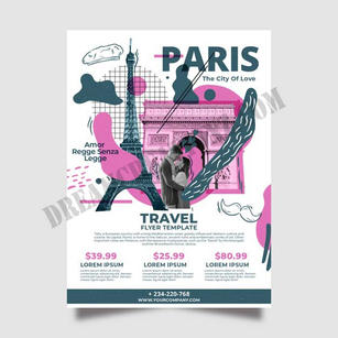 travelling-france-stationery-poster copy