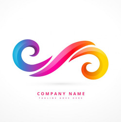 abstract-logo-made-with-colorful-swirls_