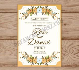 floral-wedding-invitation-with-golden-fr