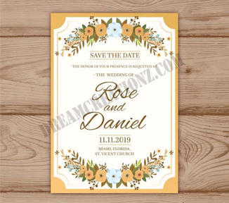 floral-wedding-invitation-with-golden-fr