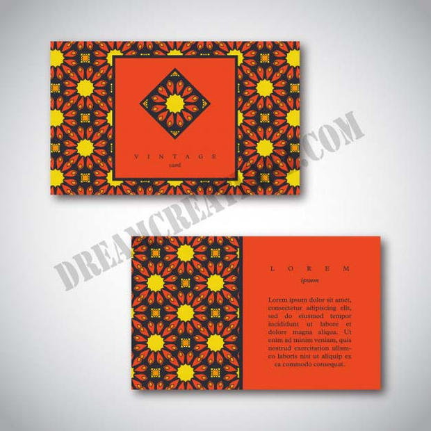 set-business-cards-with-hand-drawn-manda