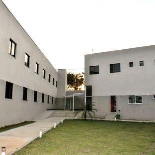 Área externa das suítes