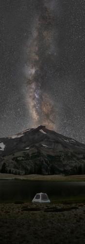 Corvallis Videograhy | Milky Way Over South Sister