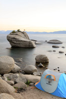 Corvallis Photography | Winterial Tent at Bonsai Rock