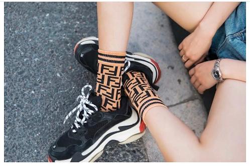 Crooked F Socks