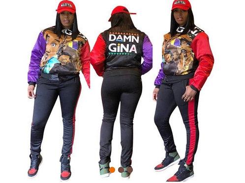 Damn Gina Two Piece Set