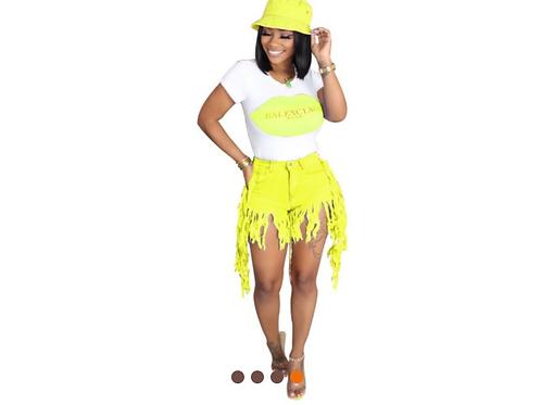 Shake What Ya Mama Gave Ya Shorts (2)