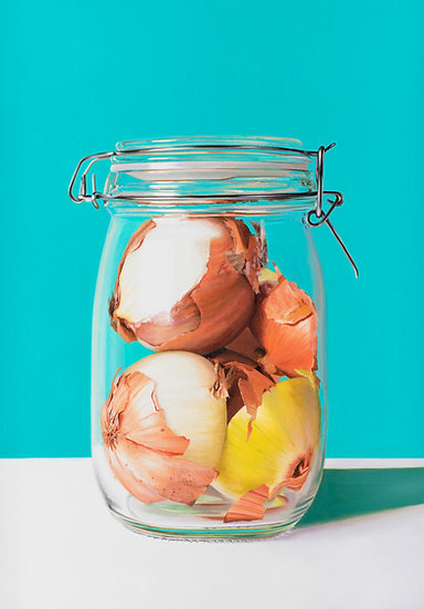 Onions in Jar