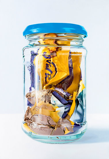 Caramel Bar in Jar