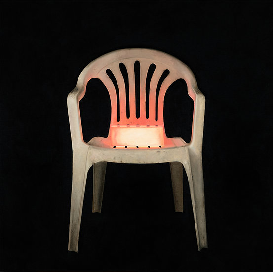Portrait of Red Chair