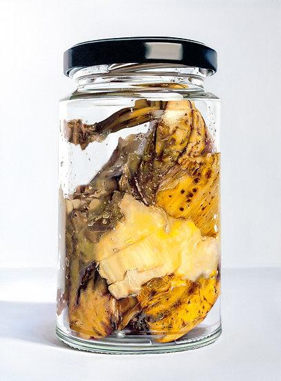 Banana In Jar