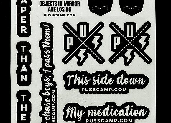 Freakin' Awesome Sticker set