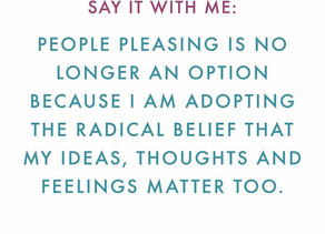 """""""Please Stop Pleasing Others"""" - A Message From My Energy Centers"""