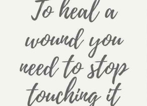 6th Step to Healing - No Wound Wallowing