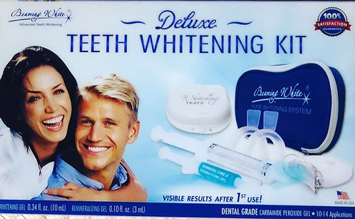 Deluxe at home teeth whitening kit
