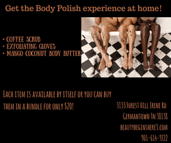 Get the body polish experience at home!