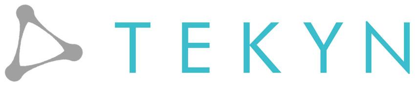 Logo Tekyn bleu canard-fond transparent_