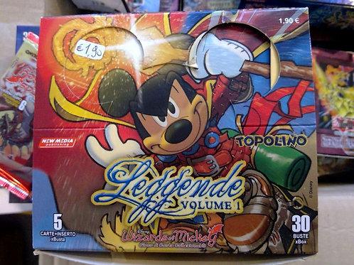 """Gioco di carte da collezione """"Wizards of Mickey"""" Leggende Vol. 1"""