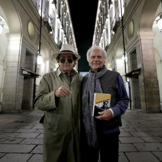 Eugenio Liverani (scenografo) e Romolo Guerrieri (regista)