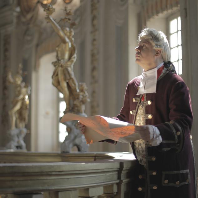Davide Grassi interpreta Filippo Juvarra