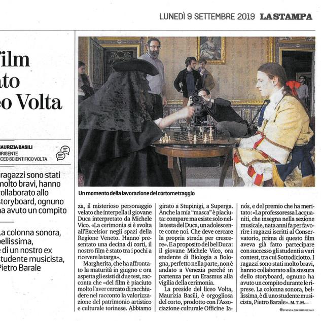 La Stampa - 9 Settembre 2019.jpg