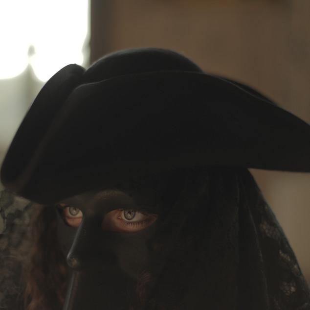 La studentessa Margherita Sciolla interpreta il personaggio misterioso